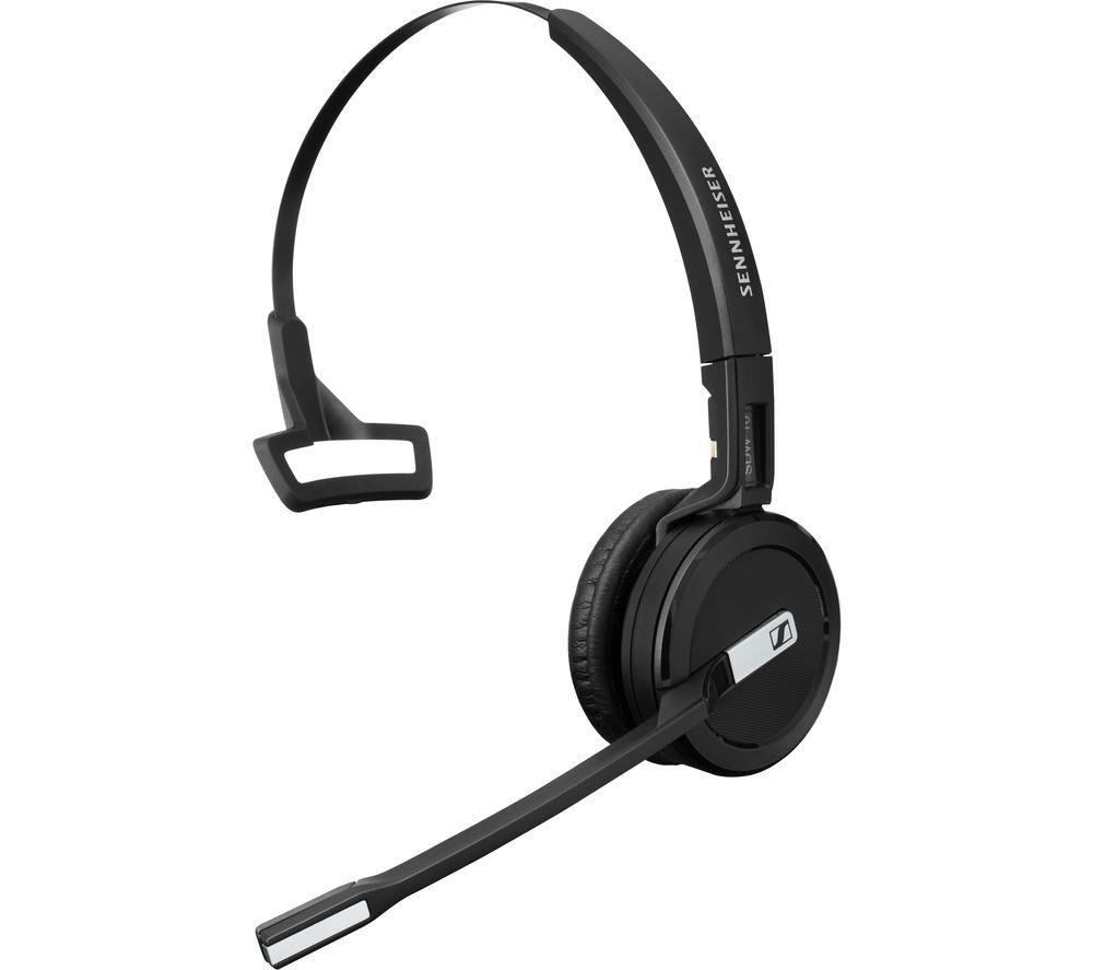 Image of SENNHEISER Impact SDW 5016 EU Wireless Headset - Black, Black