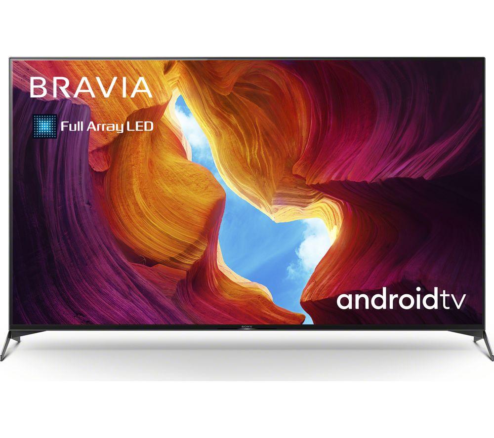 55 SONY BRAVIA KD-55XH9505BU  Smart 4K Ultra HD HDR LED TV with Google Assistant