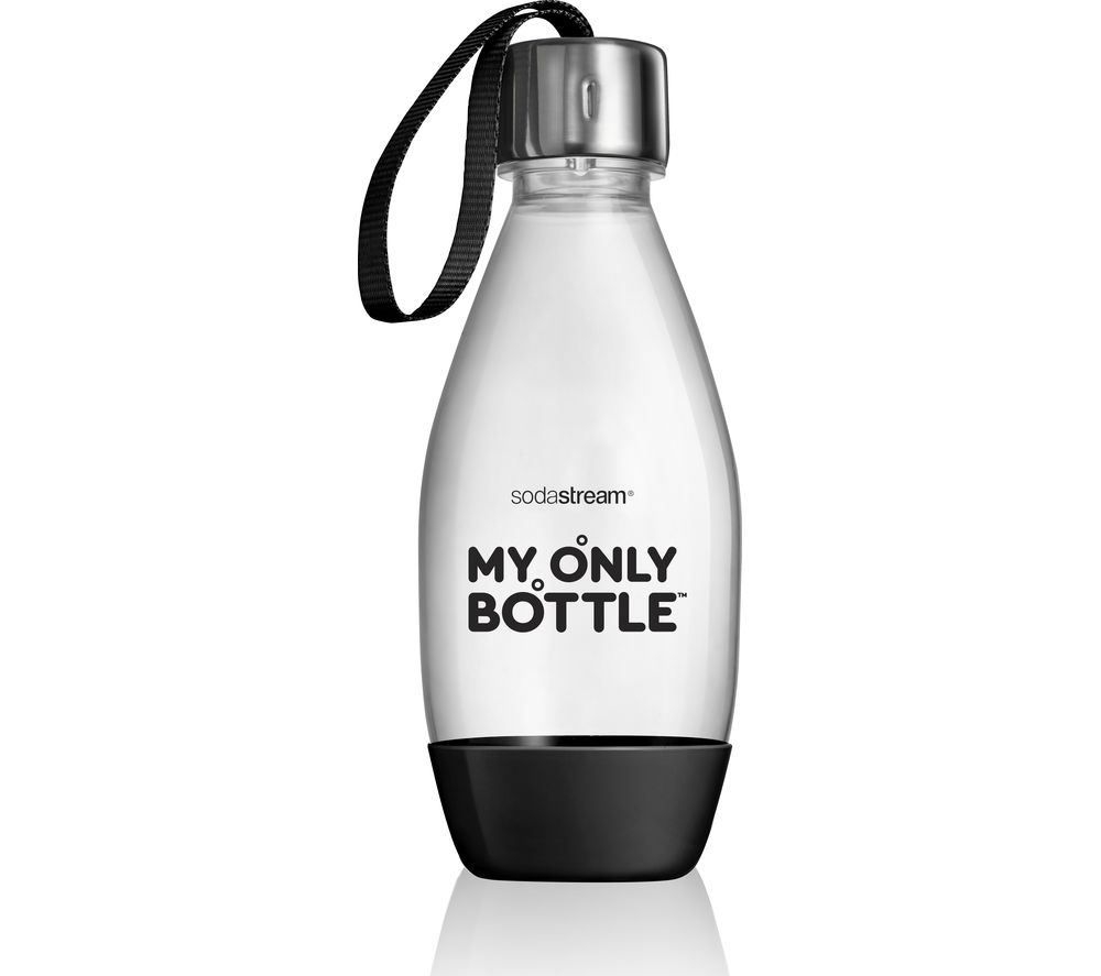 SODASTREAM My Only 0.5 Litre Carbonating Bottle - Black, Black