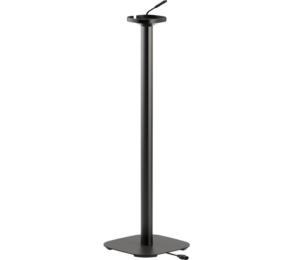 VOGELS Sound 4301 Sonos One & Play:1 Fixed Speaker Floorstand - Black