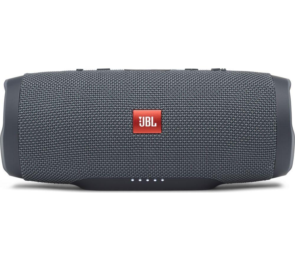 JBL Charge Essential Portable Bluetooth Speaker - Gun Metal