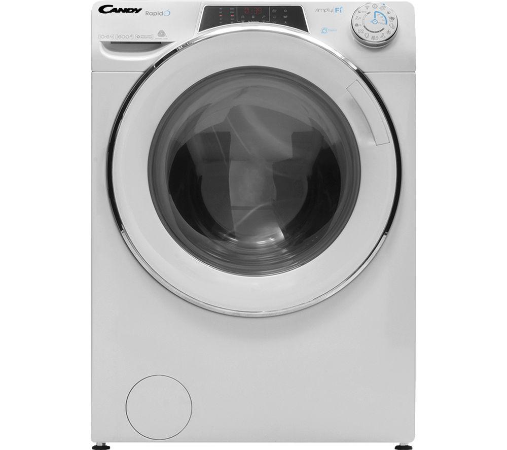 CANDY Rapido ROW61064DWMCE WiFi-enabled 10 kg Washer Dryer - White
