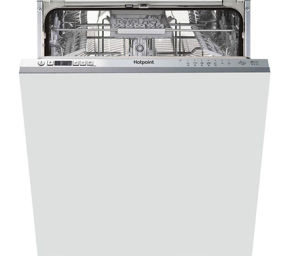HOTPOINT HDIC 3B+26 C W UK Full-size Fully Integrated Dishwasher