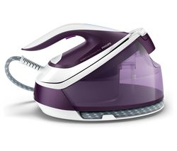 PHILIPS PerfectCare Compact Plus GC7933/36 Steam Generator Iron - Purple Magic Best Price, Cheapest Prices