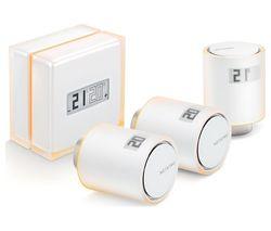 NBU-NTH-NAV Smart Thermostat with 3 Radiator Valves