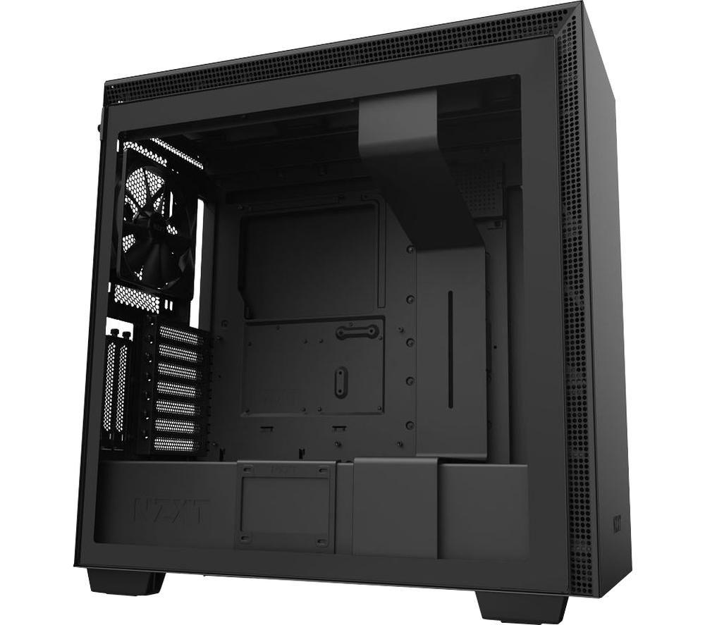 Image of NZXT H710i E-ATX Mid-Tower PC Case - Black, Black