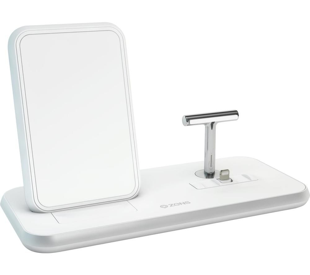 ZENS Stand+Dock ZEDC06W Aluminium Wireless Charger