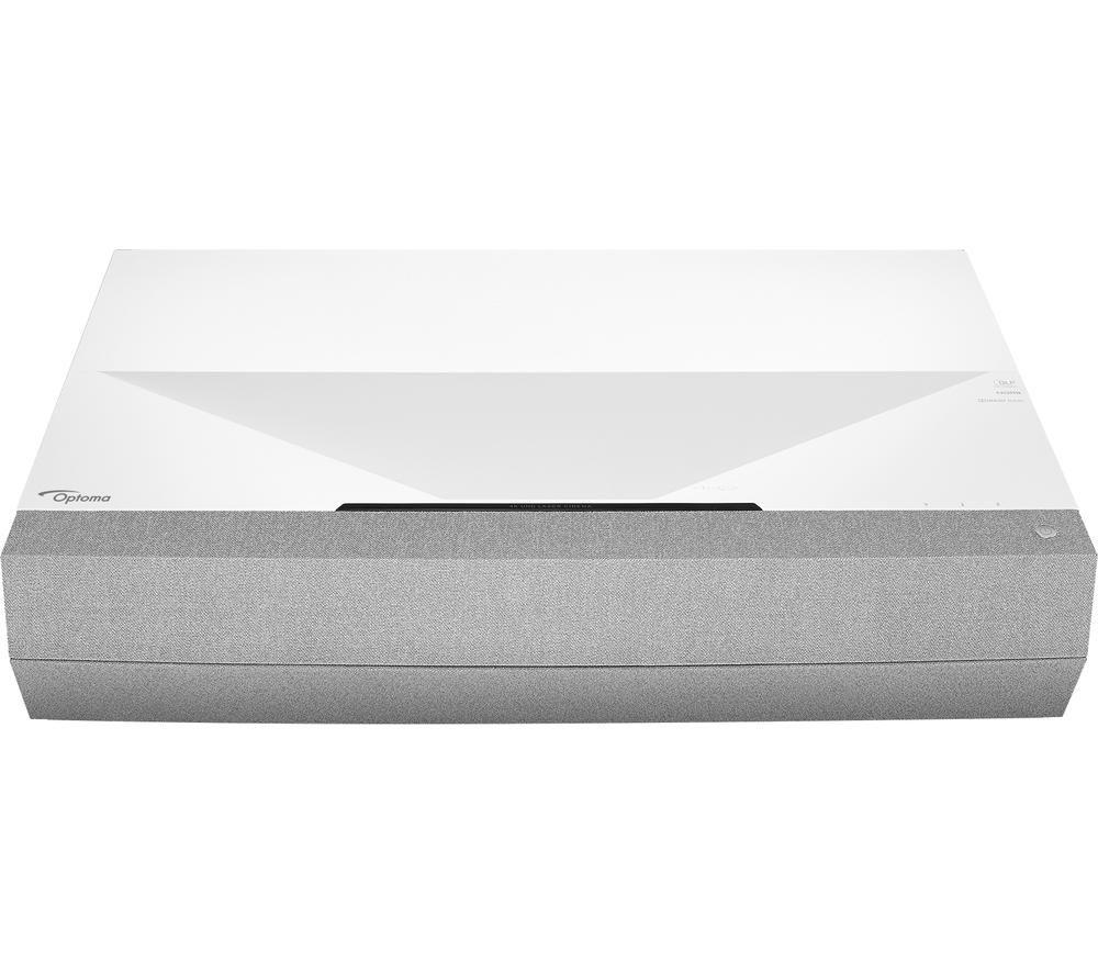 OPTOMA CinemaX P2 4K Ultra HD Home Cinema Projector - White & Grey