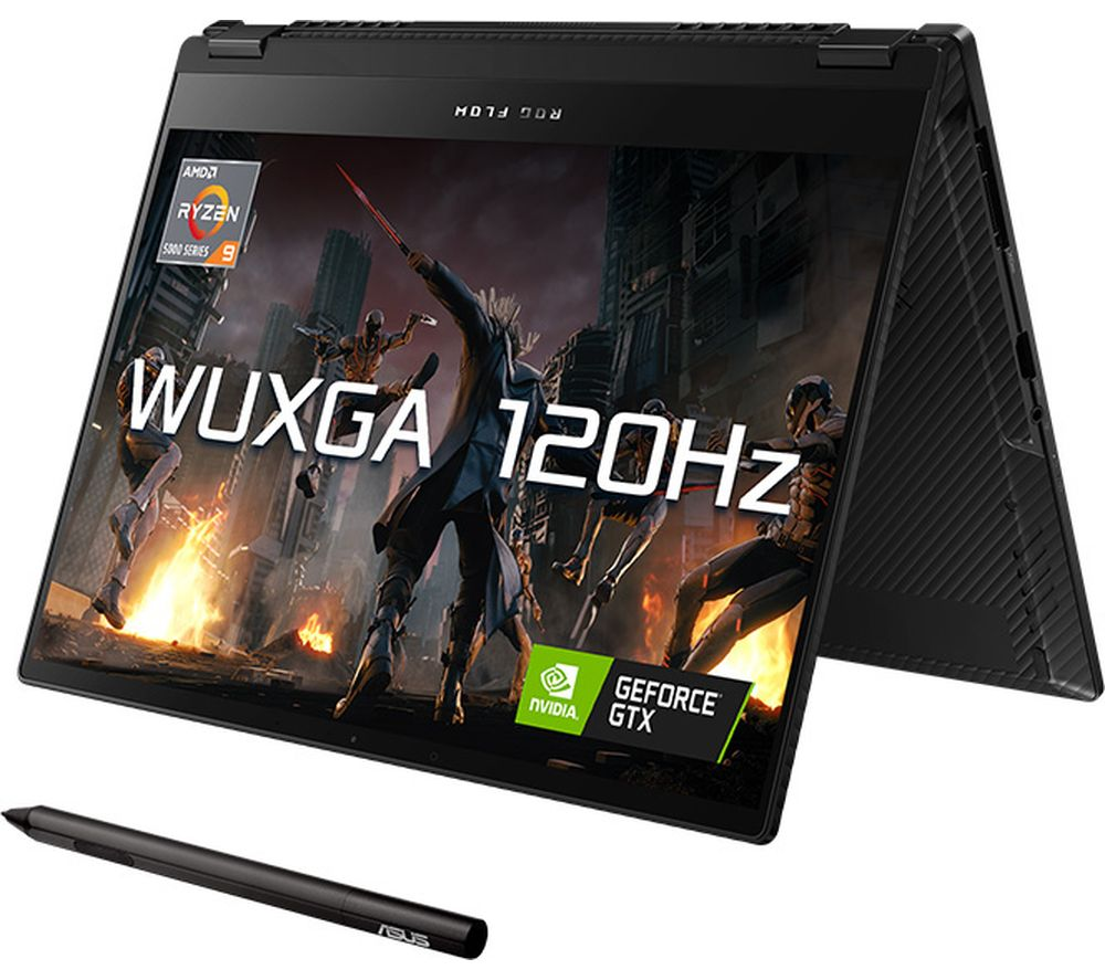 """Image of ASUS ROG Flow X13 13.4"""" Gaming Laptop - AMD Ryzen 9, RTX 3050 Ti, 1 TB SSD"""