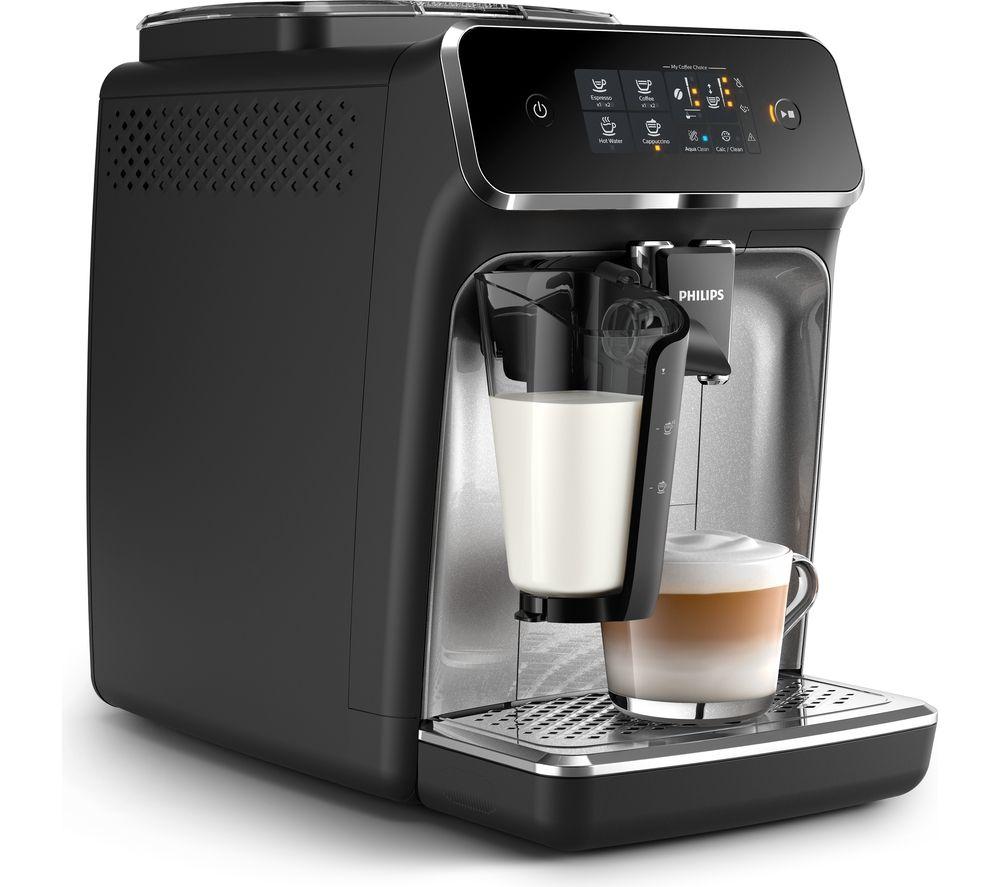 PHILIPS EP2236/40 Bean To Cup Coffee Machine – Black, Black