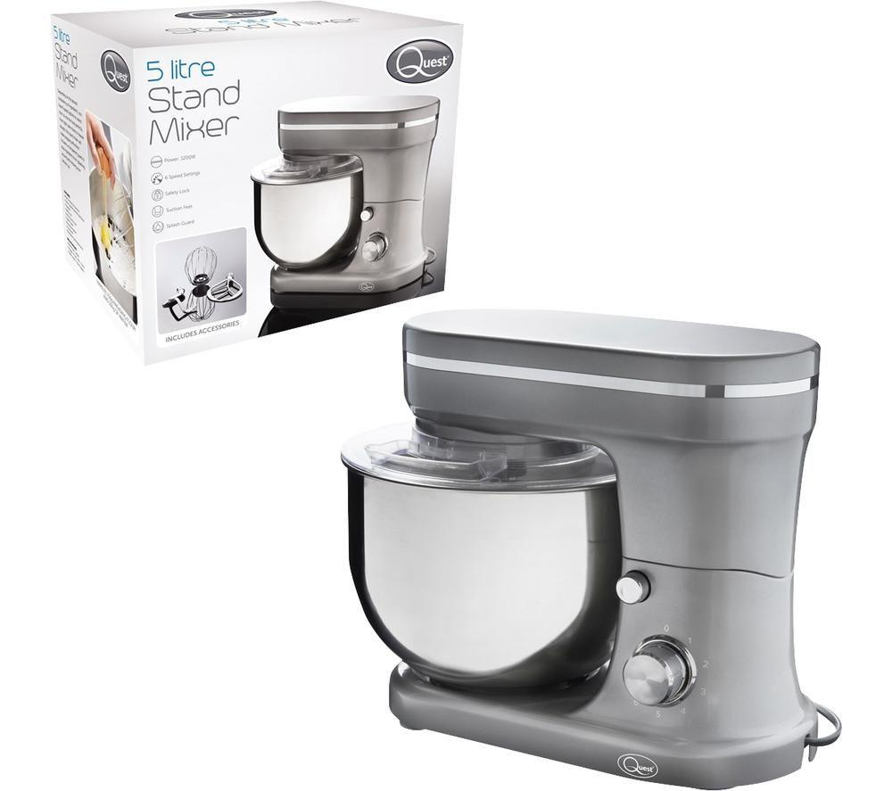 QUEST 33669 Stand Mixer - Metallic Grey