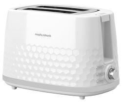 Hive 220034 2-Slice Toaster - White