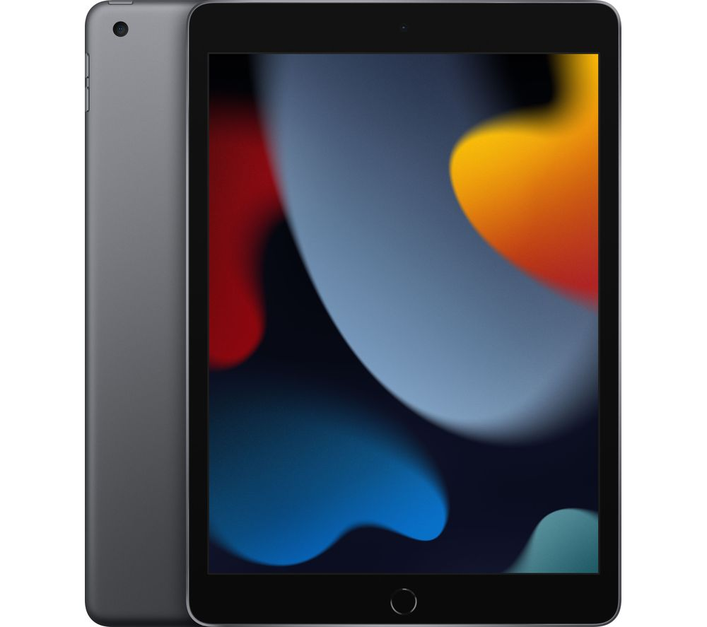 "APPLE 10.2"" iPad (2021) - 64 GB, Space Grey"