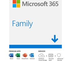 365 Family - 1 year for 6 users (download)
