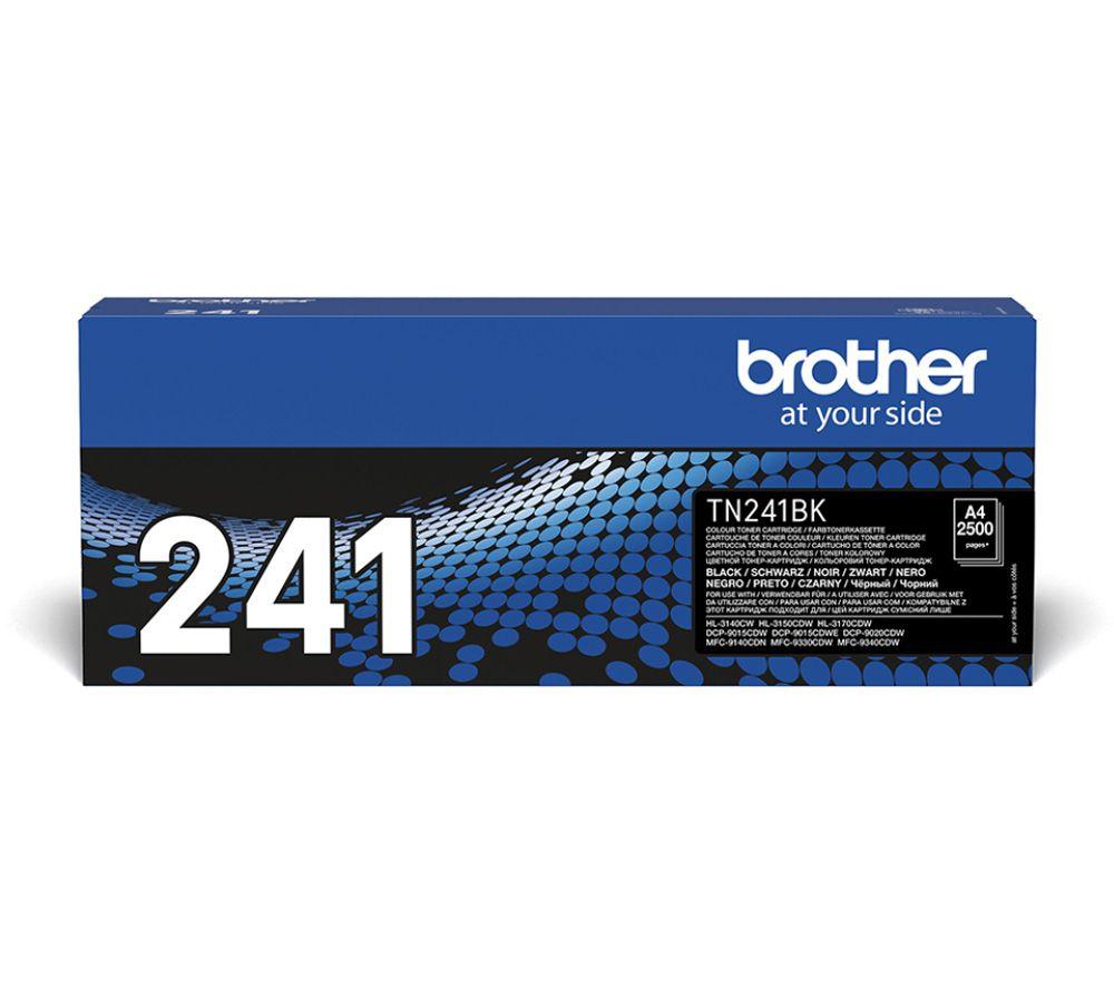 BROTHER TN241BK Black Toner Cartridge