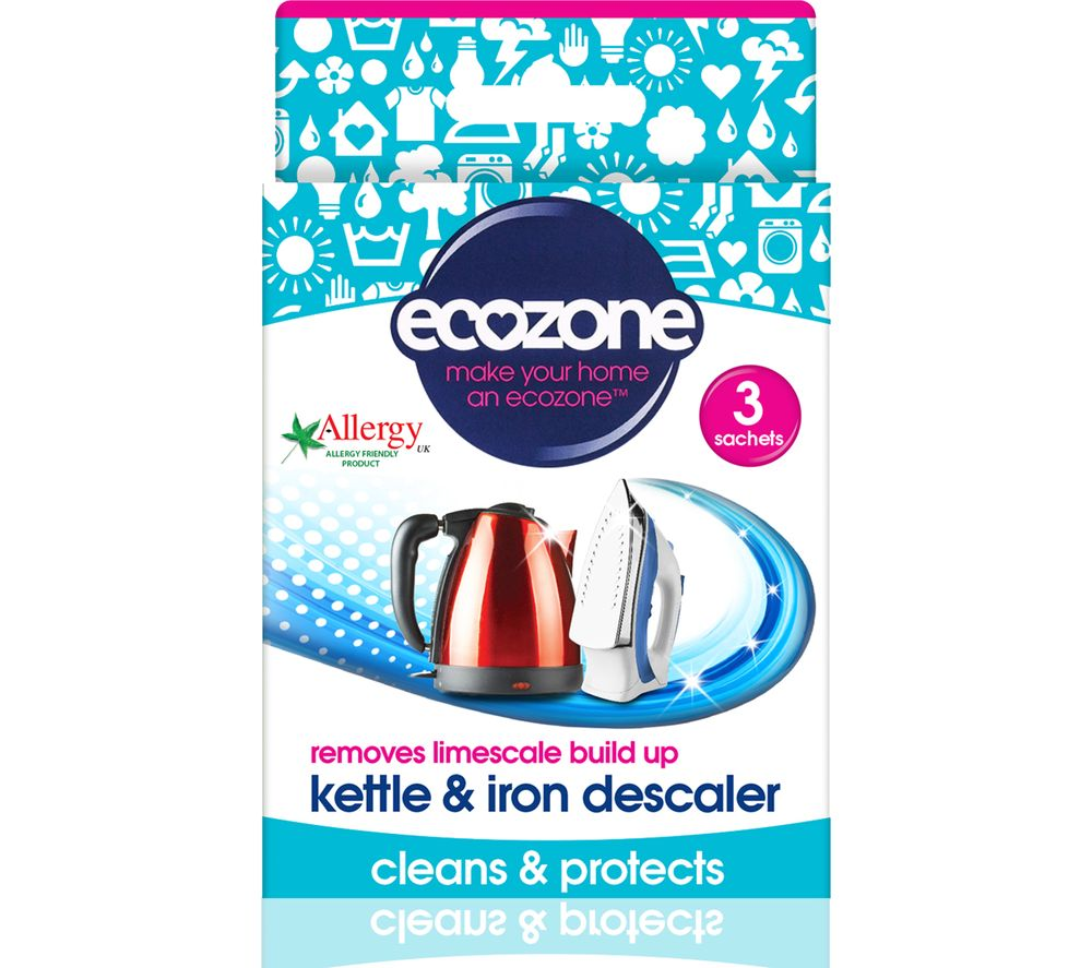 Cheapest price of Ecozone Kettle and Iron Descaler in new is £2.99