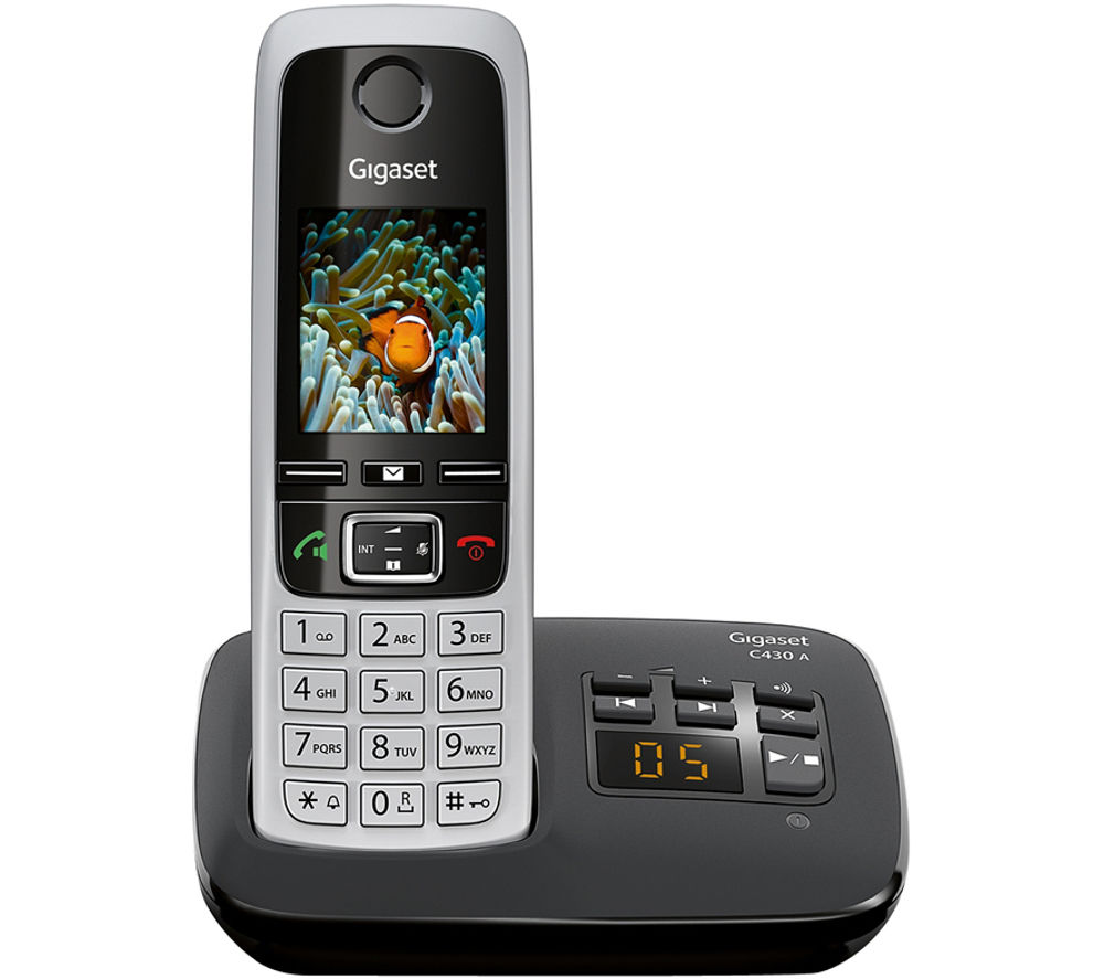 Buy GIGASET C430A Cordless Phone with Answering Machine ...