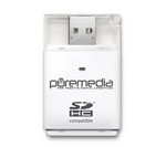 PUREMEDIA USB 2.0 Memory Card Reader
