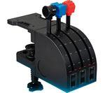 SAITEK PZ45 Pro Flight Throttle Quadrant Flight Controller