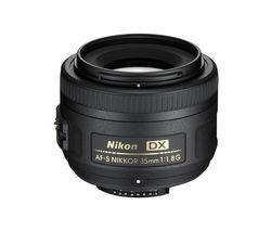 NIKON AF-S DX NIKKOR 35 mm f/1.8G Standard Prime Lens