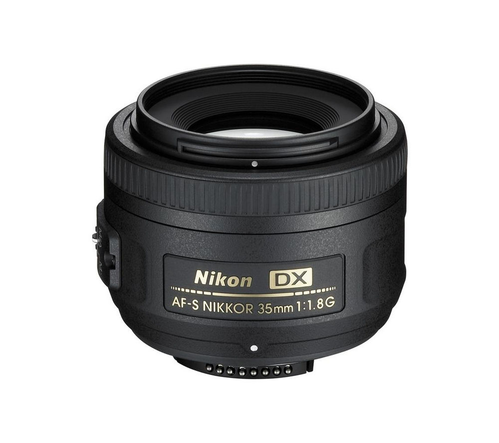 NIKON AF-S DX NIKKOR 35 mm f/1.8 G SWM Standard Prime Lens + DSLR Cleaning Kit