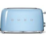 SMEG TSF02PBUK 4-Slice Toaster - Pastel Blue