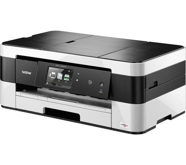 Efterstræbte BROTHER MFCJ4625DW All-in-One Wireless A3 Inkjet Printer with Fax YO-25