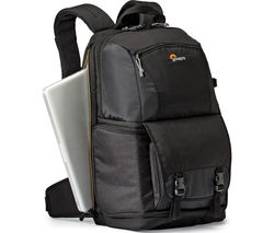 Image of LOWEPRO Fastpack BP 250 AW ll DSLR Camera Backpack - Black