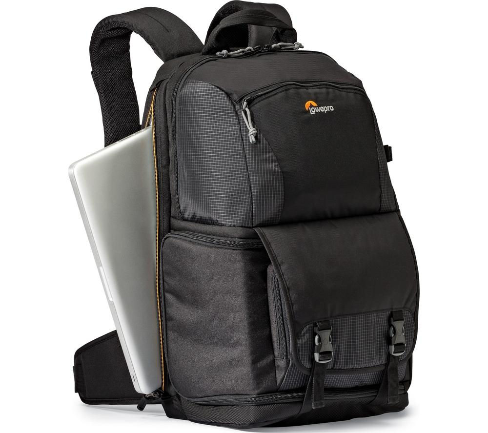 Image of LOWEPRO Fastpack BP 250 AW ll DSLR Camera Backpack - Black, Black