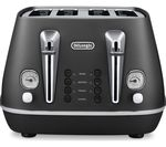 DELONGHI Distinta CTI4003.BK 4-Slice Toaster - Black