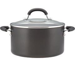 Origins 24 cm Non-stick Stock Pot - Black