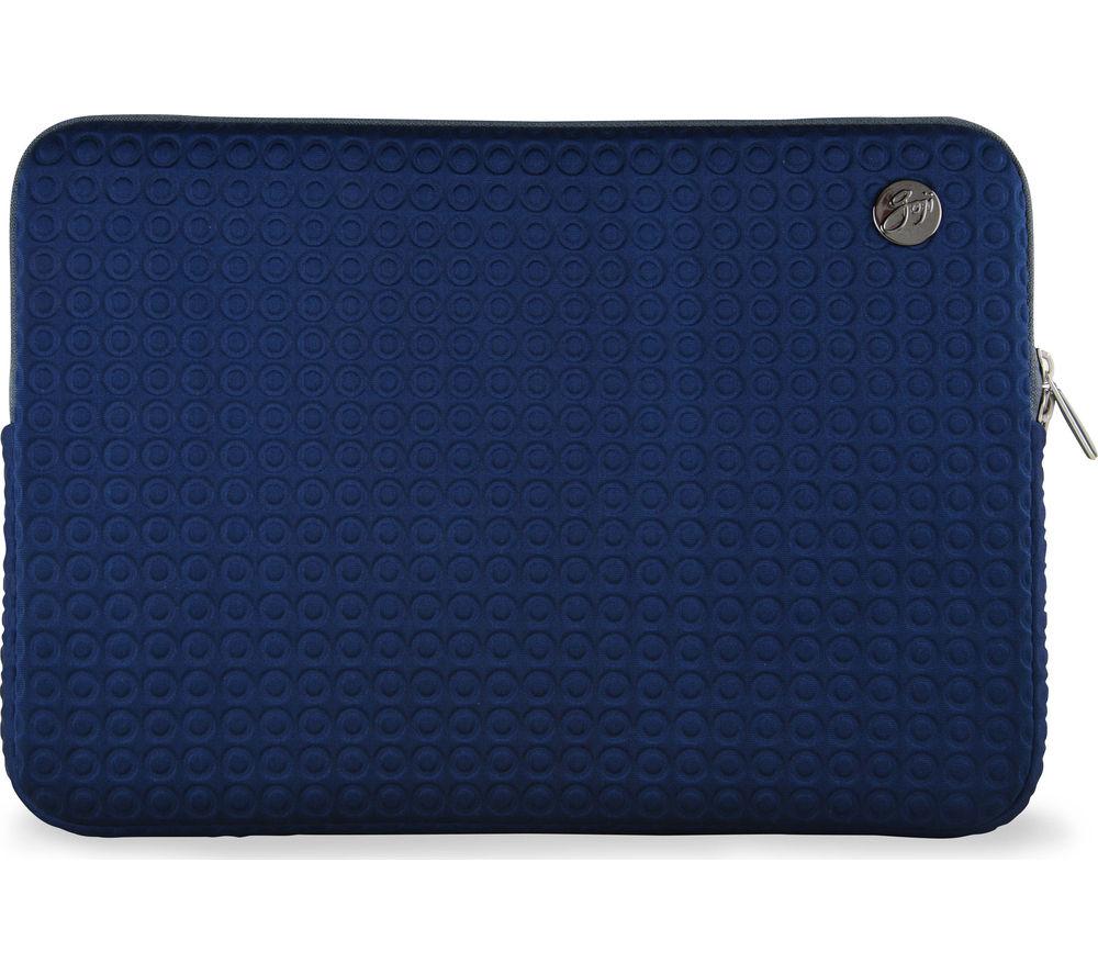 "Image of GOJI GSMBL1516 15"" MacBook Pro Laptop Sleeve - Navy & Grey, Navy"