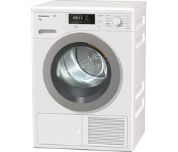 MIELE TKB640 WP Heat Pump Condenser Tumble Dryer - White