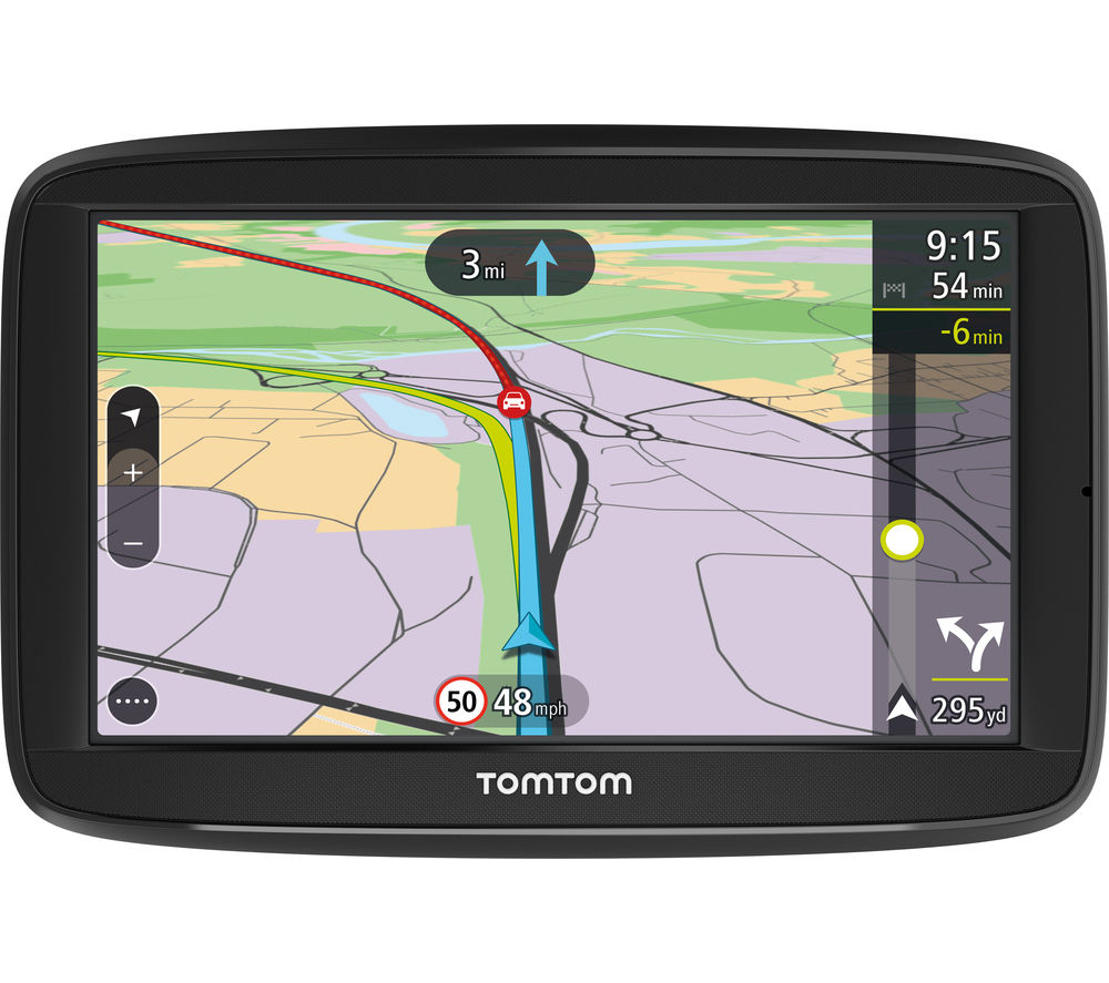 "TOMTOM VIA 52 5"" Sat Nav - with UK, ROI & Western Europe Maps"