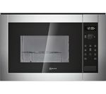 NEFF H12GE60N0G Built-in Microwave with Grill - Stainless Steel
