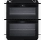 NEW WORLD NW701DO Electric Built-under Double Oven - White & Black