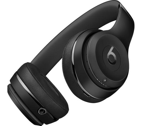 Buy Beats Solo 3 Wireless Bluetooth Headphones Black Free