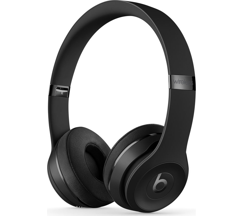 BEATS BY DR DRE Solo 3 Wireless Bluetooth Headphones - Black