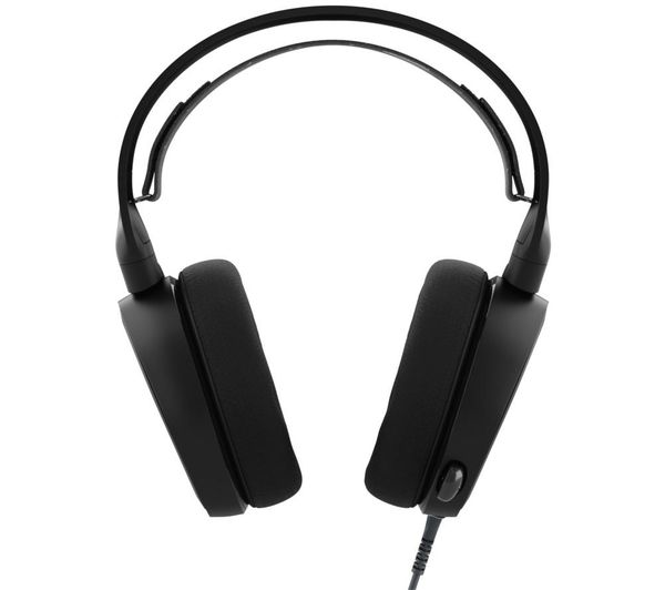 steelseries arctis 3 7 1 gaming headset black deals pc. Black Bedroom Furniture Sets. Home Design Ideas