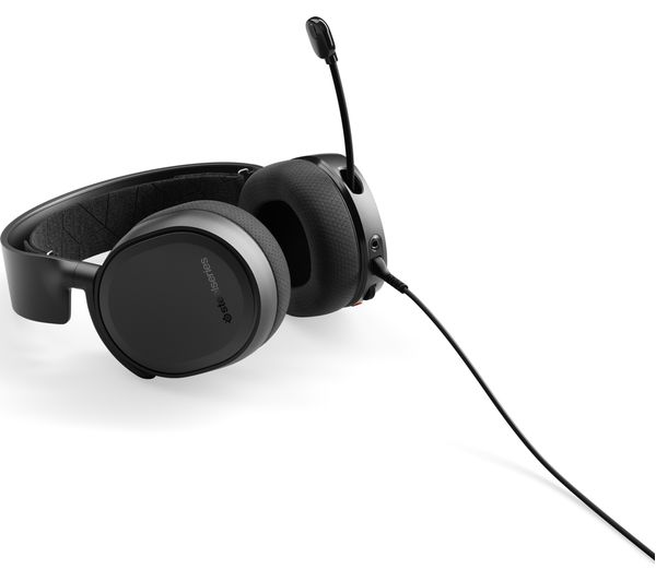 cbe44847149 STEELSERIES Arctis 3 7.1 Gaming Headset - Black Fast Delivery | Currysie