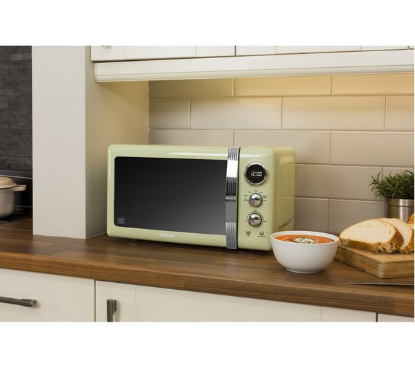 Swan Retro Sm22030gn Solo Microwave Green