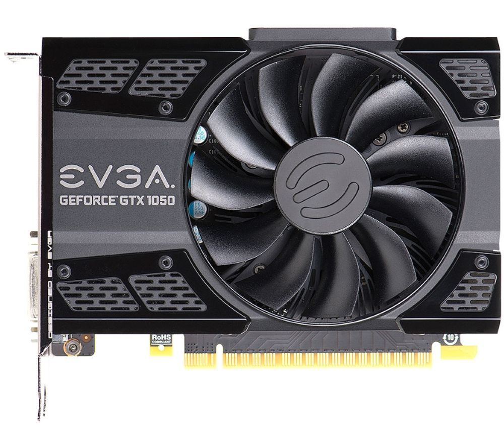 EVGA GeForce GTX 1050 Ti 4 GB SC Graphics Card