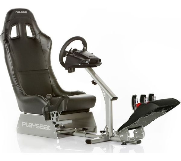 PLAYSEAT Evolution Gaming Chair   Black U0026 Silver