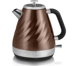 SWAN Twist Jug Kettle - Copper