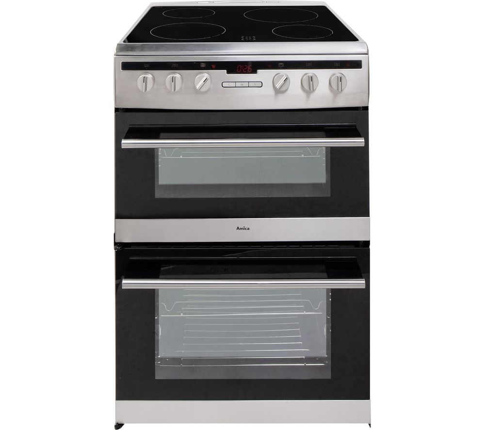 New World 55thlg Gas Cooker Black Black Cookers And Ovens