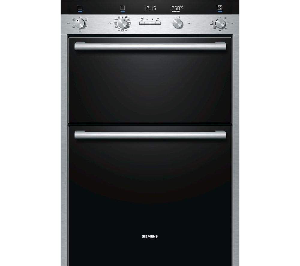 Image of SIEMENS HB55MB551B Electric Double Oven - Stainless Steel, Stainless Steel