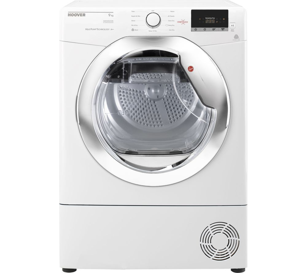 HOOVER Dynamic Next DX H9A2DCE NFC 9 kg Heat Pump Tumble Dryer - White