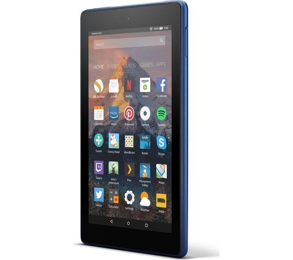 Buy AMAZON Fire 7 Tablet with Alexa (2017) - 8 GB, Marine