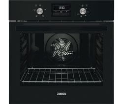 ZANUSSI ZOB35471BK Electric Oven - Black Steel