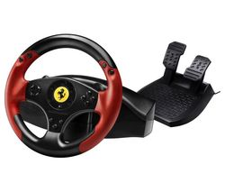 THRUSTMASTER Red Legend Ferrari Racing Wheel - Red & Black
